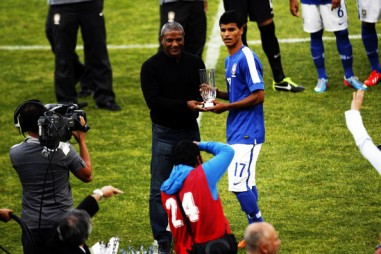 "Danilo was selected as the youngest talented player in the tournament and received the ""Plus Jeune Finalist"" award"