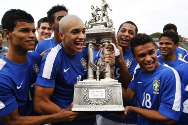 Won the U-20 Toulon Tournament with Brazil in 2013, France