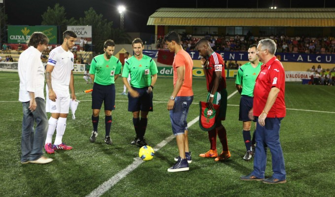 Danilo was honored with the kick off at the 2015 U-20 Cotif Tournament